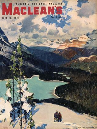 Cover for the June 15 1947 issue