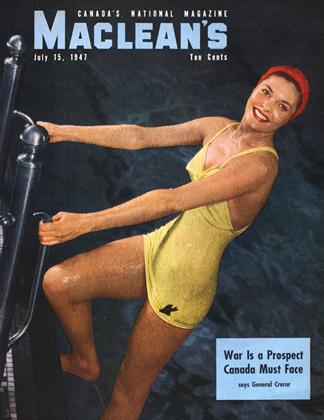 Cover for the July 15 1947 issue