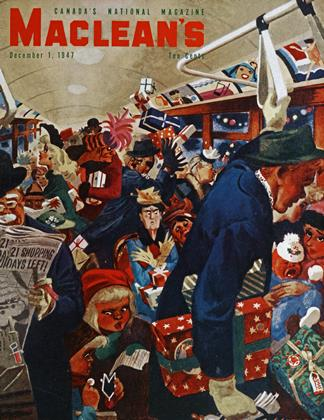 Cover for the December 1 1947 issue