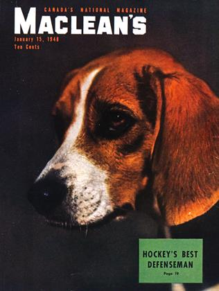Cover for the January 15 1948 issue