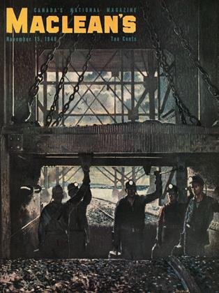 Cover for the November 15 1948 issue