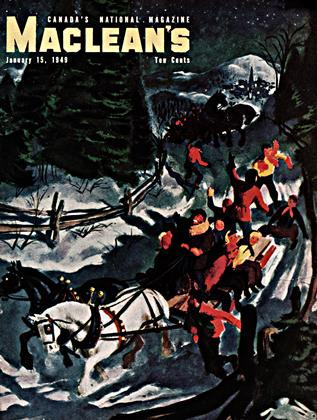 Cover for the January 15 1949 issue