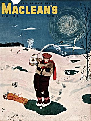 Cover for the March 1 1949 issue