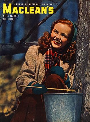 Cover for the March 15 1949 issue