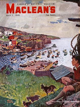 Cover for the April 1 1949 issue