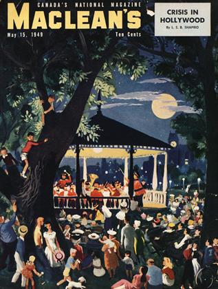 Cover for the May 15 1949 issue