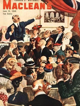 Cover for the June 15 1949 issue