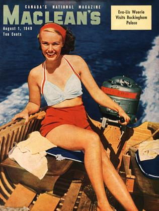 Cover for the August 1 1949 issue