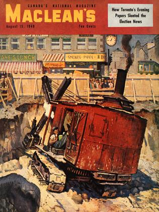 Cover for the August 15 1949 issue