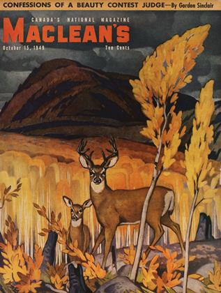 Cover for the October 15 1949 issue