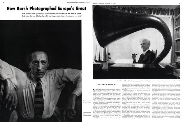 How Karsh Photographed Europe's Great