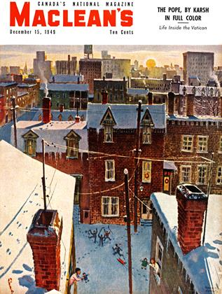 Cover for the December 15 1949 issue