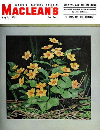 Cover for the May 1 1950 issue