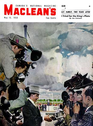 Cover for the May 15 1950 issue