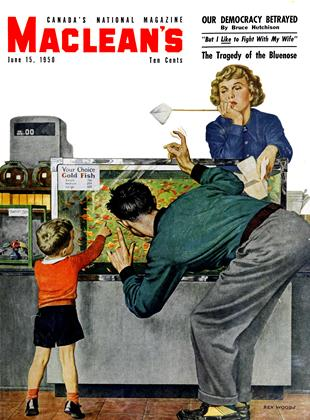 Cover for the June 15 1950 issue