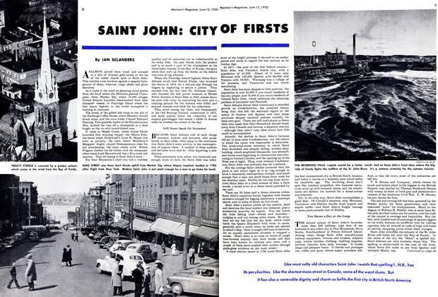 SAINT JOHN: CITY OF FIRSTS