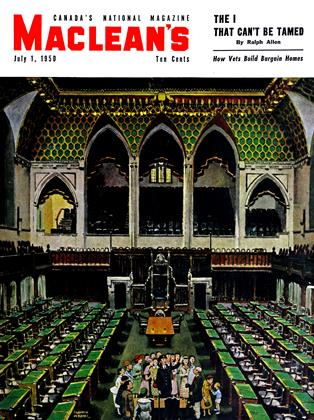 Cover for the July 1 1950 issue
