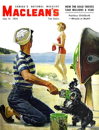 Cover for the July 15 1950 issue