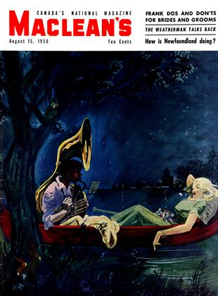 Cover for the August 15 1950 issue