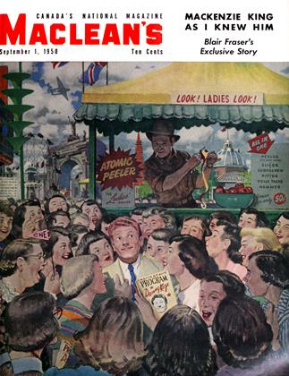 Cover for the September 1 1950 issue