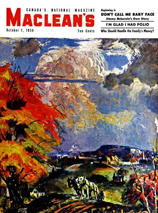 Cover for the October 1 1950 issue