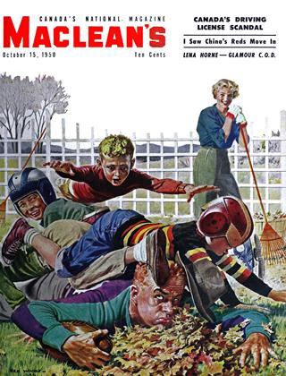 Cover for the October 15 1950 issue