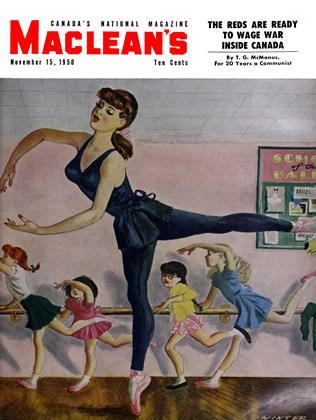 Cover for the November 15 1950 issue
