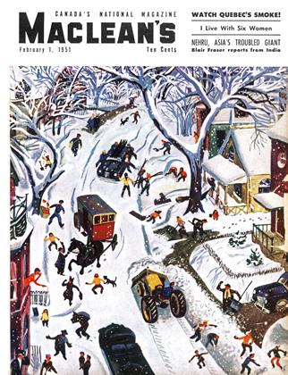 Cover for the February 1 1951 issue