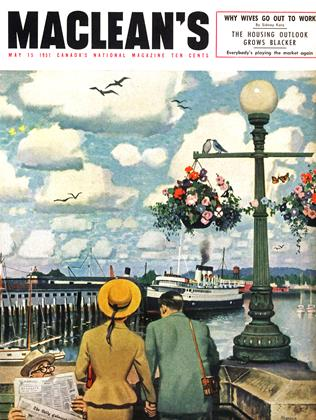 Cover for the May 15 1951 issue