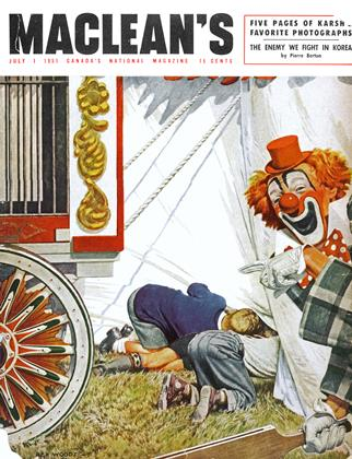 Cover for the July 1 1951 issue