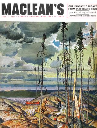 Cover for the July 15 1951 issue