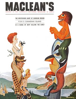 Cover for the August 15 1951 issue