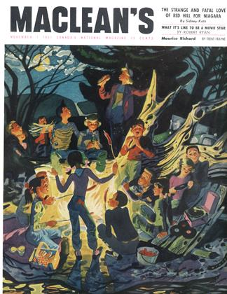 Cover for the November 1 1951 issue