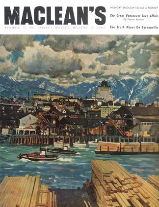 Cover for the November 15 1951 issue