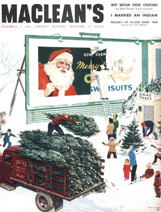 Cover for the December 1 1951 issue