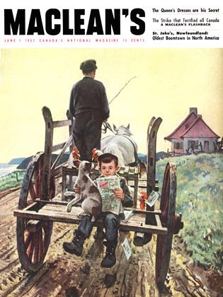 Cover for the June 1 1952 issue