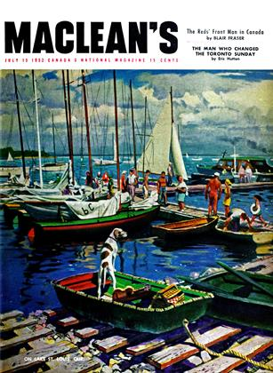 Cover for the July 15 1952 issue