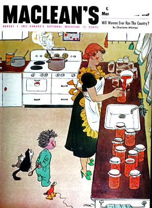 Cover for the August 1 1952 issue
