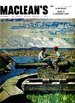 Cover for the September 1 1952 issue