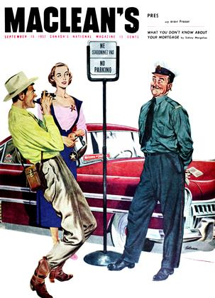 Cover for the September 15 1952 issue