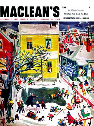 Cover for the December 1 1952 issue