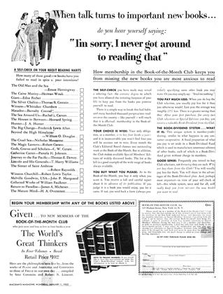 Cover for the January 1 1953 issue