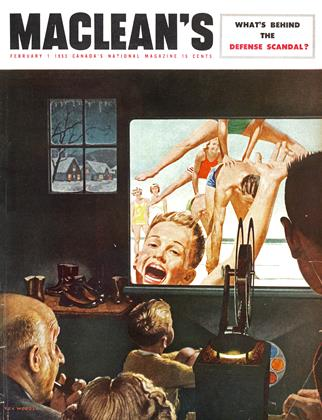 Cover for the February 1 1953 issue