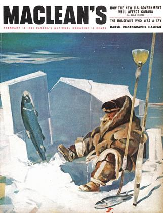 Cover for the February 15 1953 issue