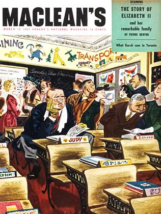 Cover for the March 15 1953 issue