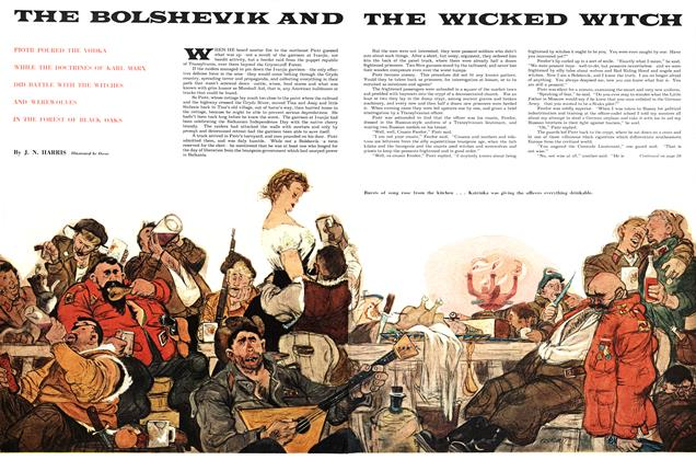 THE BOLSHEVIK AND THE WICKED WITCH