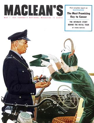 Cover for the May 1 1953 issue