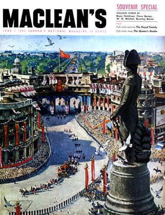 Cover for the June 1 1953 issue