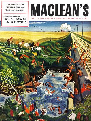 Cover for the July 15 1953 issue