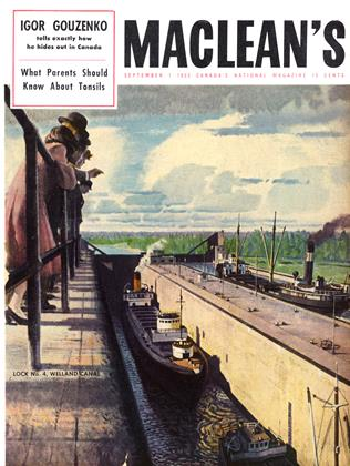 Cover for the September 1 1953 issue